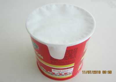 Composite Can with Paper Membrane