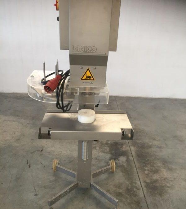 Lanico V110 semi automatic seamer with automatic lid-feeder