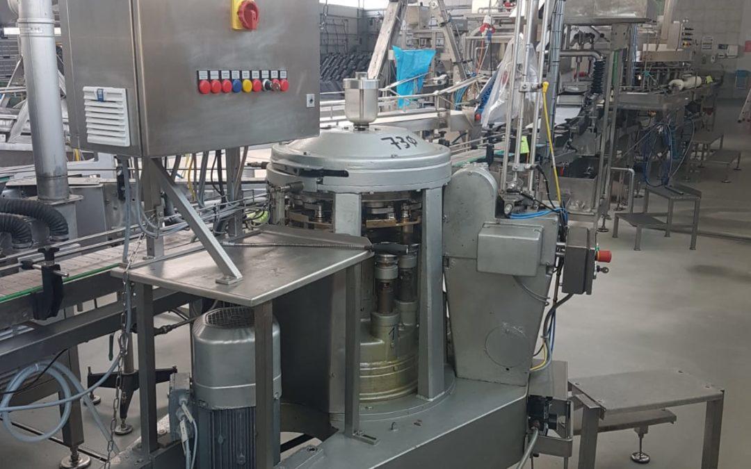 Automatic seamer Lubeca LW 202