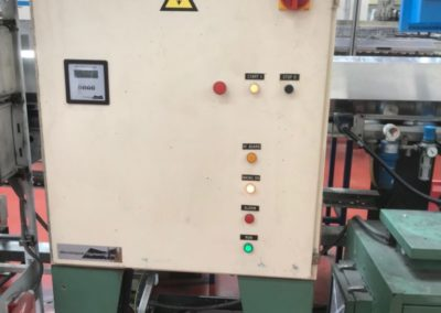 induction oven control cabinet