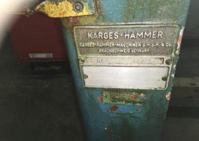 Karges Hammer type M2BF2 plate