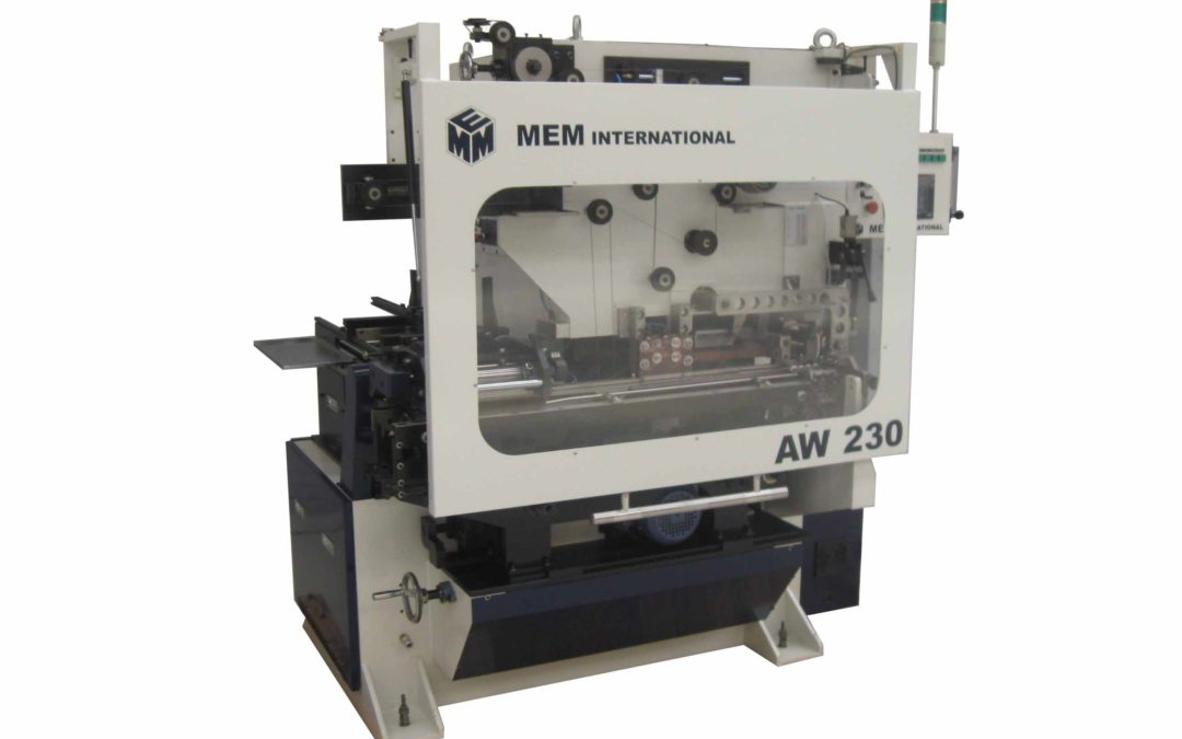 Automatic welder MEM AW 230 tooled for 99 mm cans, speed up to 230 cans per minute