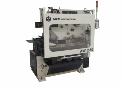 MEM AW 230 automatic welder for cans