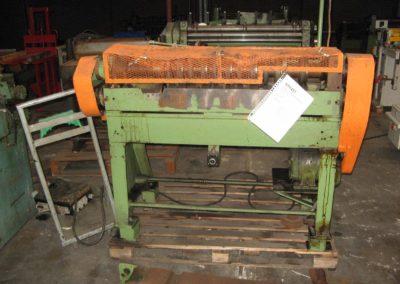 Klinghammer 446 semi-automatic slitter