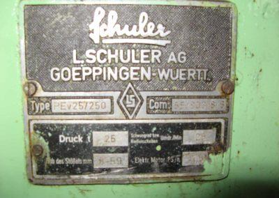 Schuler PEV 25, 25 tons press