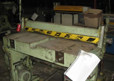 Klinghammer guillotine slitter