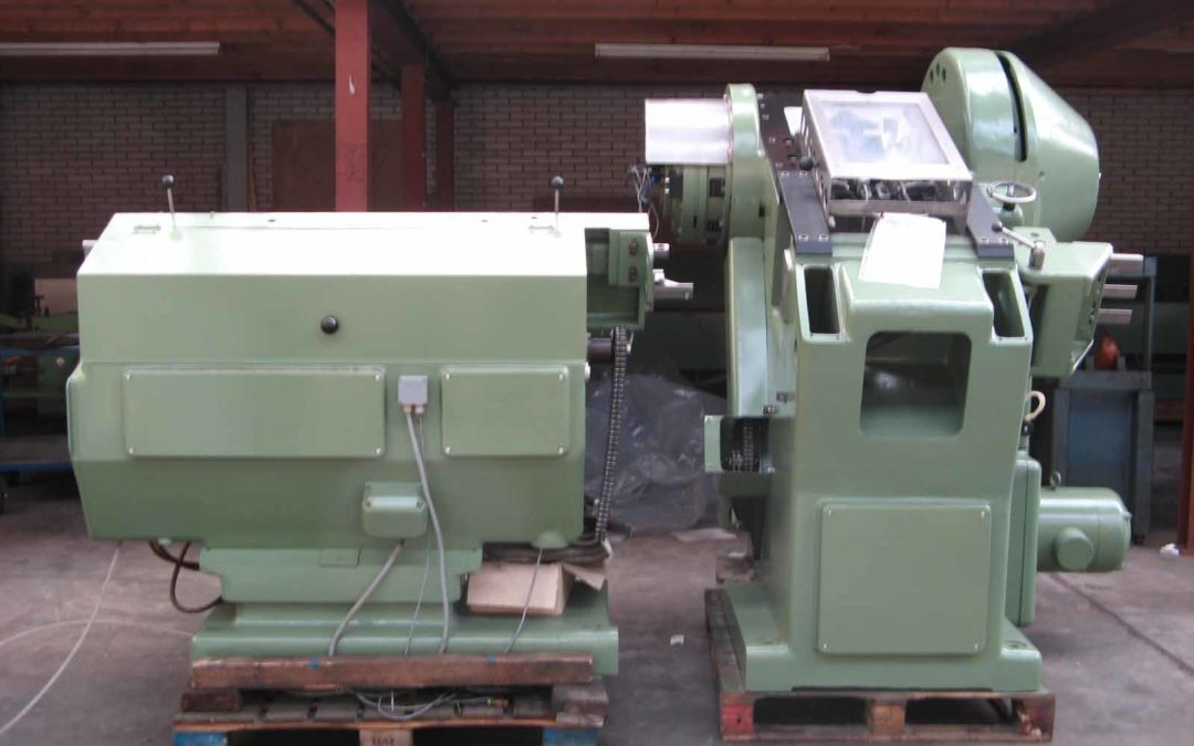 Krupp P320 30 tons press with double curler