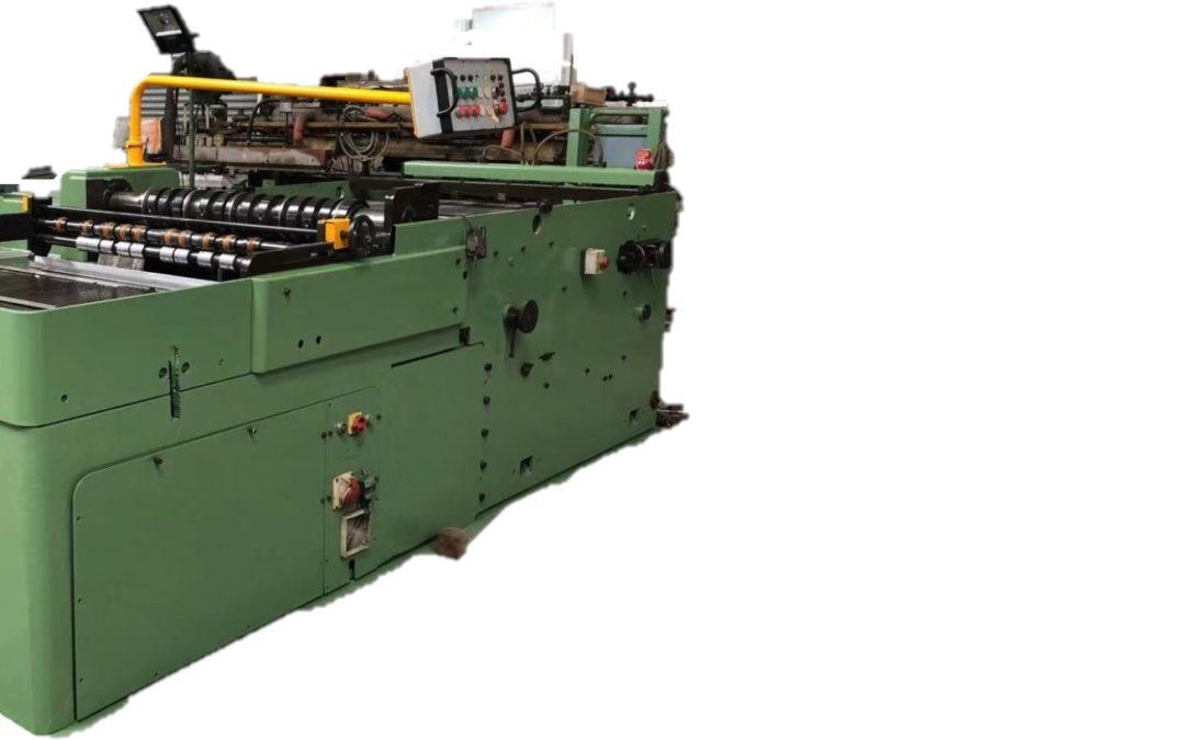Krupp cut-o-mat slitter (R) ( also known as Krupp type SDVT )