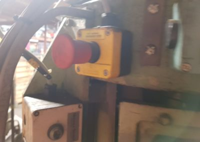 Metalbox GCR700 automatic seamer emergency stop