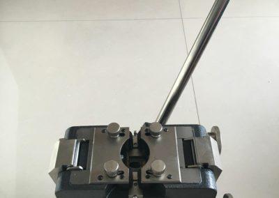 cold pressure welder front