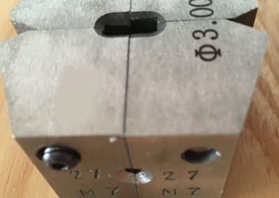 Cold pressure welder single dies 3.0 mm