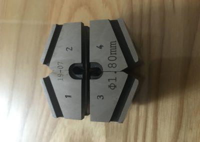 Cold pressure welder single dies 1.80 mm