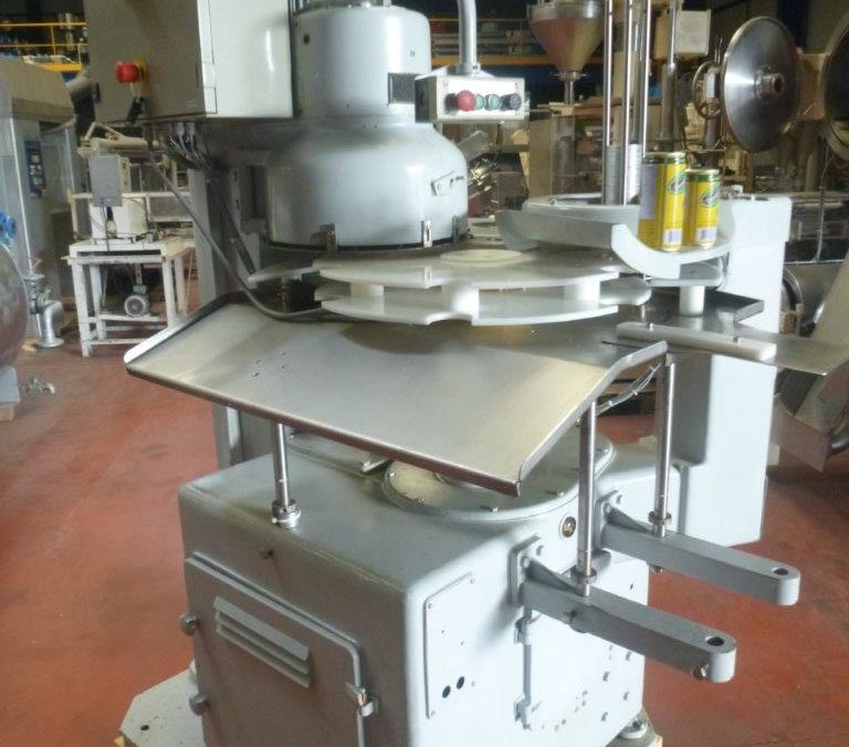 Automatic Lanico Rapid type DT 265 for round cans