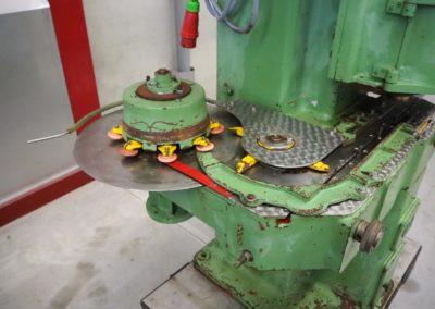 infeed lanico machine