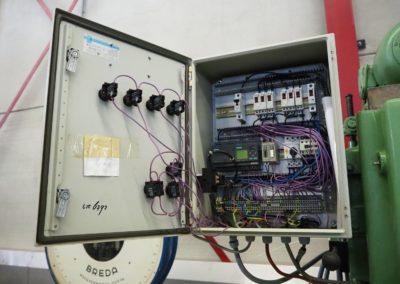 control box lanico seamer