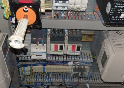 control cabinet Seamer Angelus 60L
