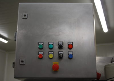 Automatic seamer Angelus 40P electrical cabinet