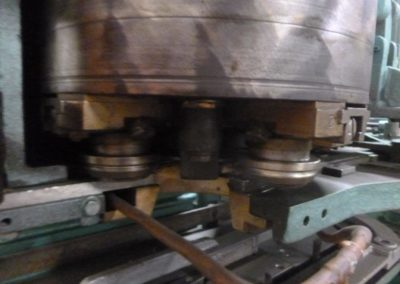 Carnaud model 510 C seaming rollers
