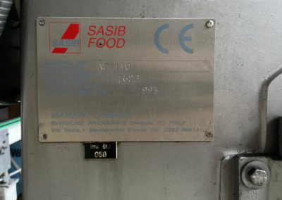 Automatic seamer Manzini comaco AG110 serial number