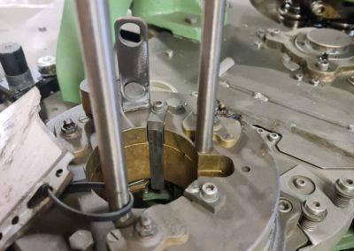 feeding part HCM 550 seamer cans